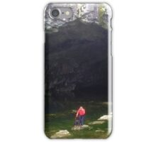 Rydal Cave, Lake District National Park, UK iPhone Case/Skin