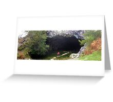 Rydal Cave, Lake District National Park, UK Greeting Card