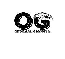OG - Original gangsta Photographic Print