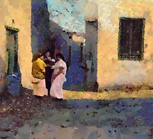 Jewish women in Tunis by Vincent68