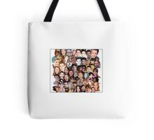 Youtuber Collage Tote Bag