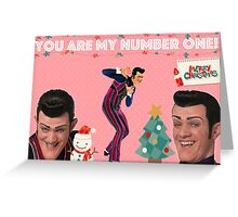 You are my number one Greeting Card