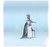The dapper penguin Poster