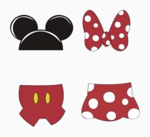 Mickey and Minnie Icons Kids Clothes