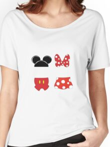 Mickey and Minnie Icons Women's Relaxed Fit T-Shirt