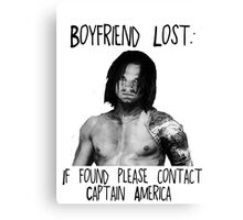 Bucky Lost Canvas Print