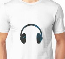 Galaxy Headphones Unisex T-Shirt