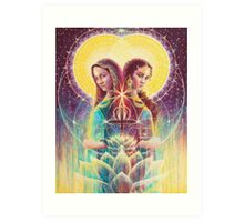 The Reunion of Mary Art Print