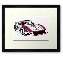 Porsche 935 Group 5 Moby Dick Framed Print