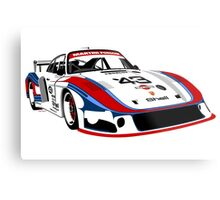 Porsche 935 Group 5 Moby Dick Metal Print