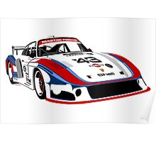 Porsche 935 Group 5 Moby Dick Poster