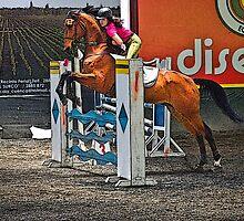 De Feet Go Over De Fence Before De Tail III by Al Bourassa