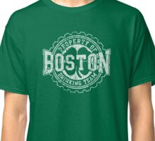Boston Irish Drinking Team Beer Cap Classic T-Shirt