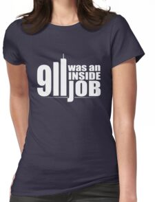 9/11 Was an Inside Job Womens Fitted T-Shirt