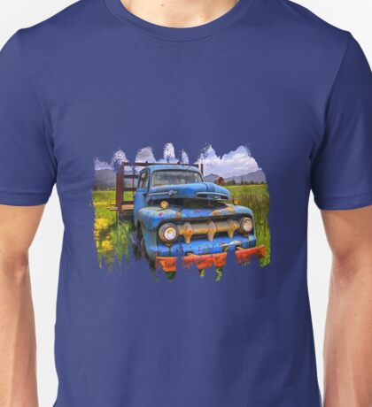 BLUE CLASSIC 48 to 52 FORD TRUCK Unisex T-Shirt