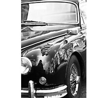 Mirror car Photographic Print