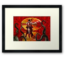Star Portal .. Into Demon Realm Framed Print
