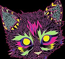 Cat face by RoxanelaBanane