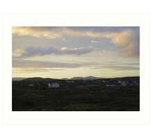 A Donegal Dawn Art Print