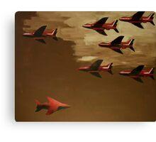 Oben-Unten1 Canvas Print