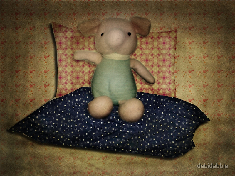 A Piglet Hello by debidabble