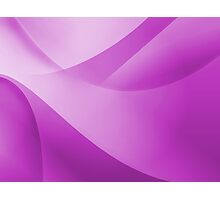 Purple Wallpaper Photographic Print