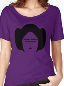 Carrie Fisher Women's Relaxed Fit T-Shirt