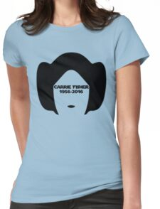 Carrie Fisher Womens Fitted T-Shirt