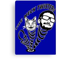 Neck Twisters Canvas Print