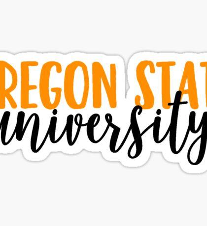 Oregon State University Sticker