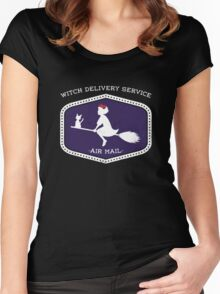 Air Mail Women's Fitted Scoop T-Shirt