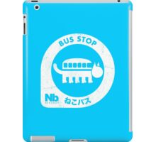 Neko Bus Stop iPad Case/Skin