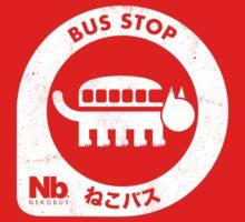 Neko Bus Stop Kids Tee