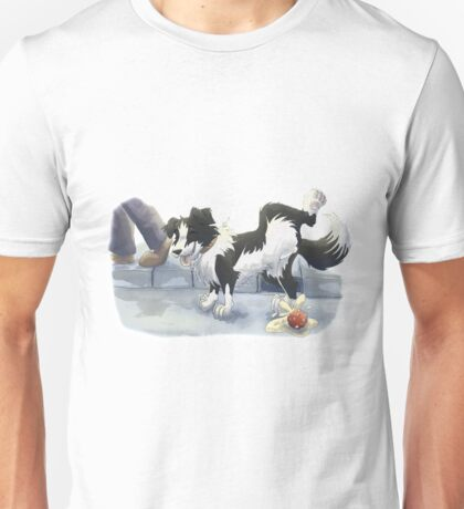 The perfect place to pee Unisex T-Shirt