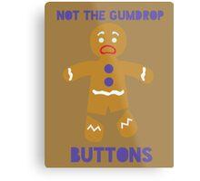 Le Gumdrop Buttons  Metal Print