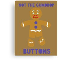 Le Gumdrop Buttons  Canvas Print