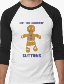 Le Gumdrop Buttons  Men's Baseball ¾ T-Shirt