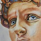 Michelangelo's David...in Color by Christiane  Kingsley