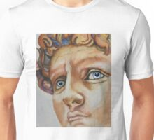 Michelangelo's David...in Color (Florence) Unisex T-Shirt