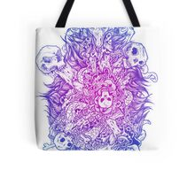 Goats and skulls and gore oh my! Tote Bag
