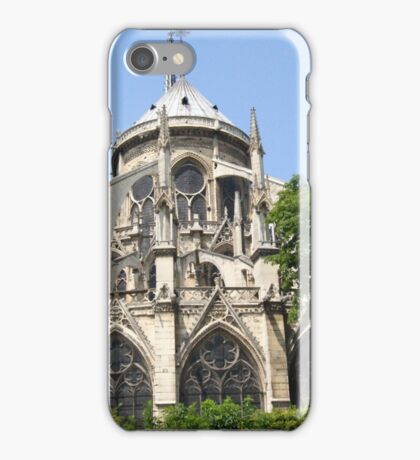 Flying Buttresses -Notre Dame iPhone Case/Skin