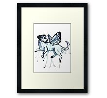 Butterfly Thistle Framed Print