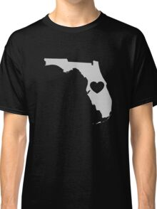 Florida Love Heart Classic T-Shirt