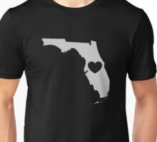 Florida Love Heart Unisex T-Shirt