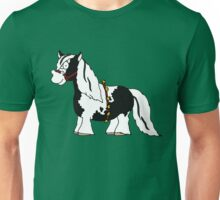 A Gypsy Vanner Christmas (Black) Unisex T-Shirt