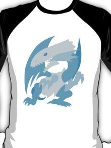 Blue-Eyes White Dragon vector T-Shirt