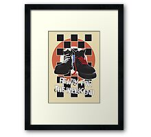 ready for the weekend Framed Print
