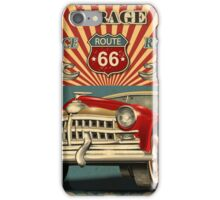 Retro Route 66 iPhone Case/Skin