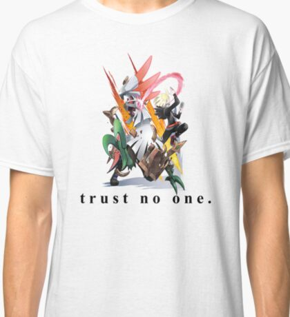Pokemon - Silvally and Gladion           (1/3 ALOLAN GODS COLLECTION) Classic T-Shirt