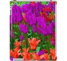 Tulips in Skagit Valley iPad Case/Skin